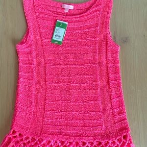 NWT Lilly Pulitzer light summer woven top